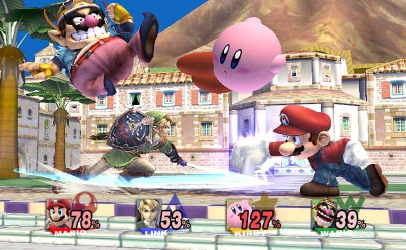 Super Smash Bros. Brawl - Combat à l'Île Delfino