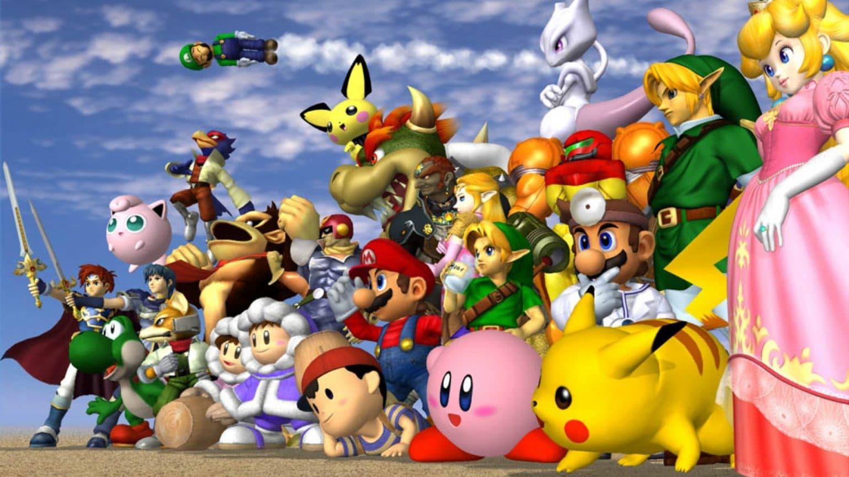 Super Smash Bros. Melee - Tous les personnages