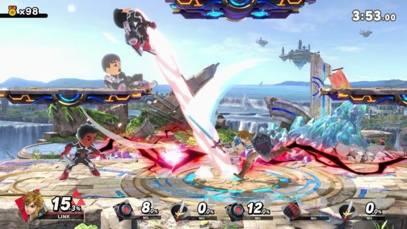Super Smash Bros. Ultimate - All-stars Smash