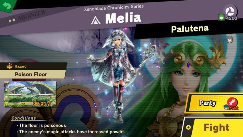 Super Smash Bros. Ultimate - Esprits Melia