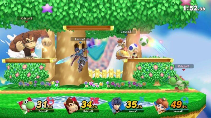 Super Smash Bros. Ultimate - Combat