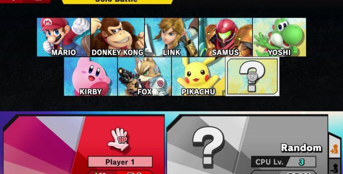 Super Smash Bros. Ultimate - Sélection des personnages