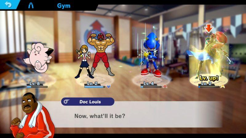 Super Smash Bros. Ultimate - Entrainement des Esprits