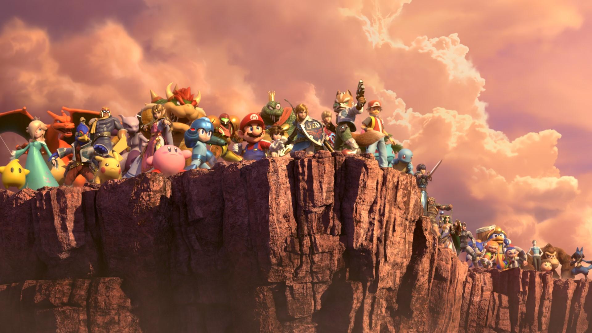Super Smash Bros. Ultimate - Lueur du monde
