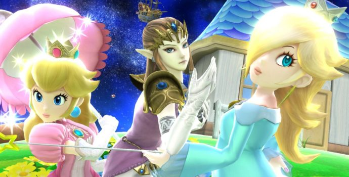 Super Smash Bros. for Wii U - Peach, Zelda et Harmonie