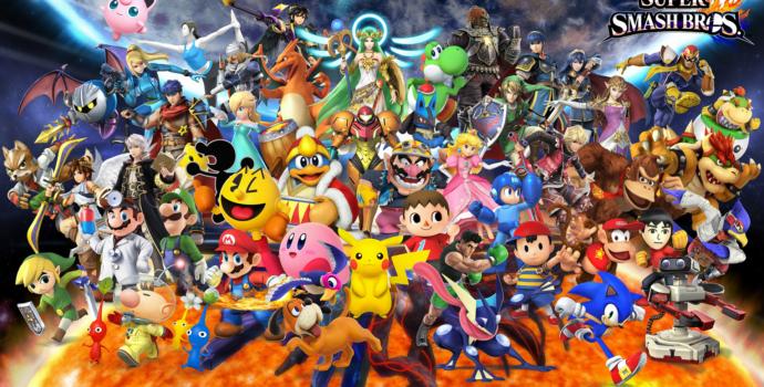 Super Smash Bros. for Wii U - Tous les personnages de base