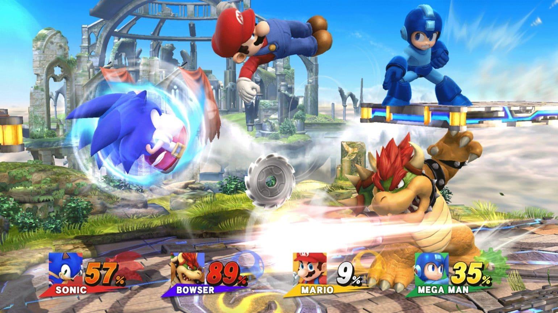 Super Smash Bros. for Wii U - Combat à quatre