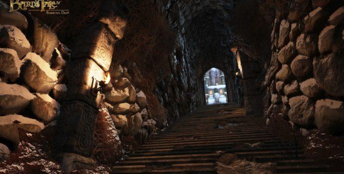 the bard's tale iv escalier