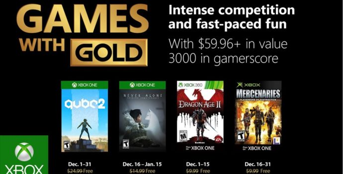 Games With Gold - Xbox One