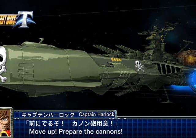 Albator sera jouable aux commandes de l'Arcadia dans le nouveau Super Robot Wars T