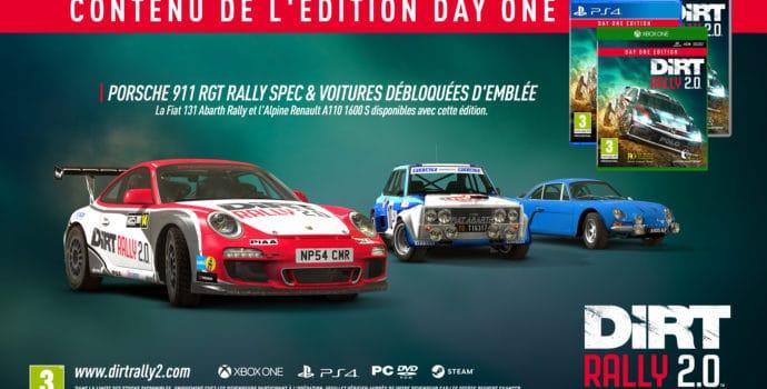 dirt rally 2.0 - bonus day one édition