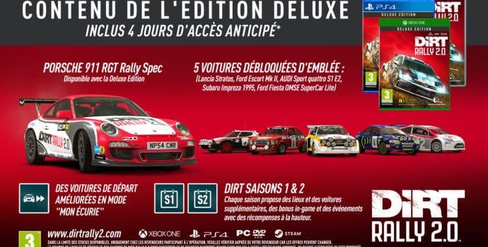 dirt rally 2.0 - bonus édition deluxe