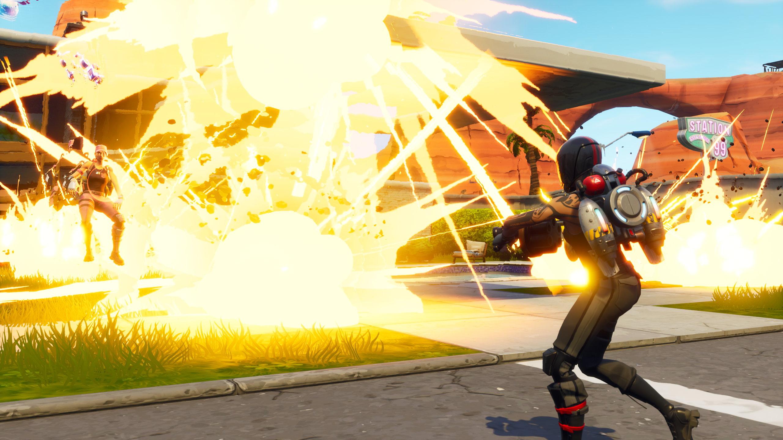 Fortnite - Explosions