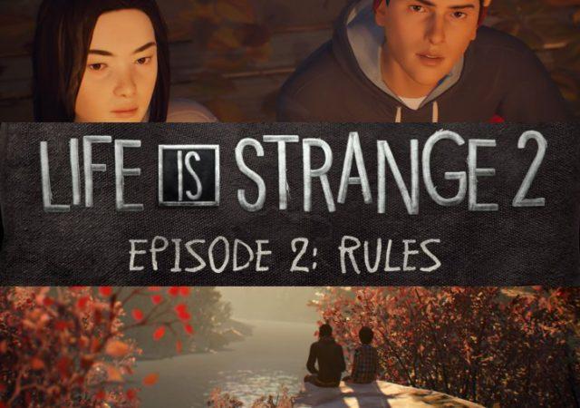 Life is Strange 2 Episode 2 Sean et Daniel face au lac