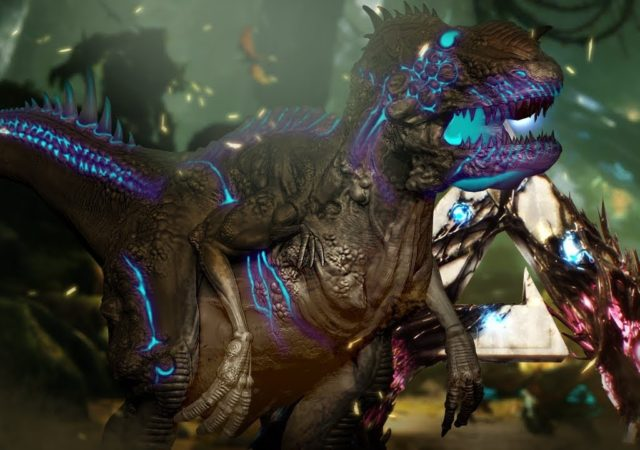 ark: extinction t-rex