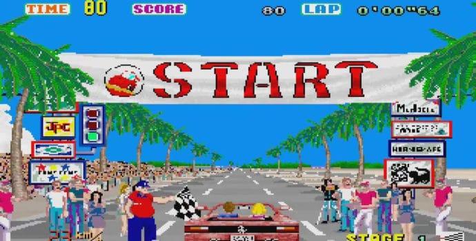 Out Run, le classique de l'arcade rejoint la collection Sega Ages sur Switch