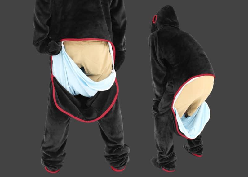 Pyjama gamer : conçu pour vous faciliter le passage aux toilettes.