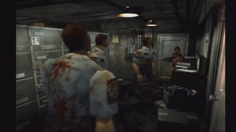 resident evil 2 jeu de légende raccoon city zombies claire commisariat