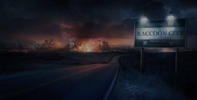 resident evil 2 jeu de légende raccoon city welcome