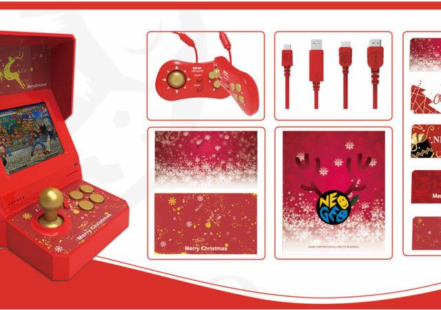 SNK Neo Geo Mini spécial Noël