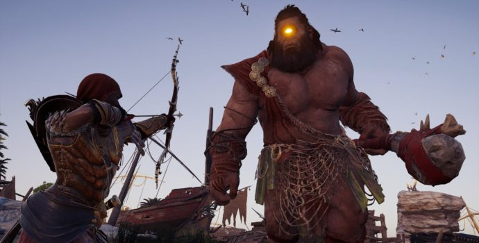 Assassin's Creed Odyssey cyclope