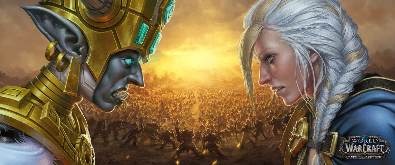 world of warcraft flots de la vengeance confrontation