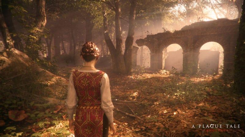 A Plague Tale: Innocence Amicia dans la forêt