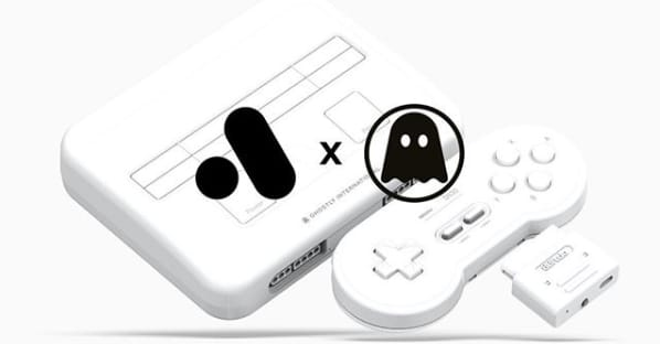 Analogue SNES console Ghostly