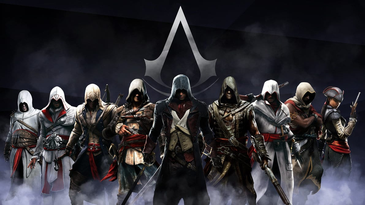 Assassin's Creed héros