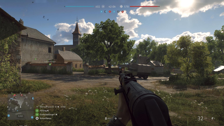 Battlefield V - Village de France