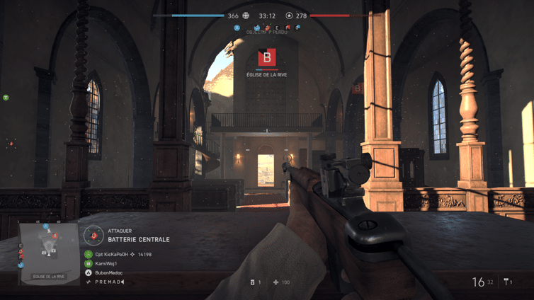 Battlefield V Eglise Panzerstorm