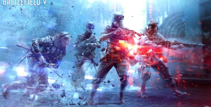 Battlefield V Artwork officiel