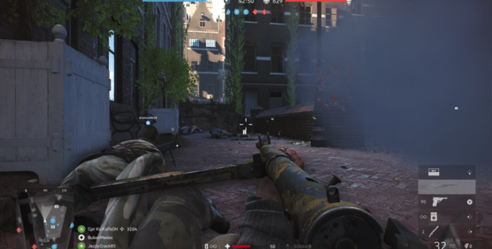 Battlefield V - Coucher sur le dos