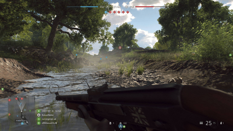 Battlefield V Ruisseau d'Arras
