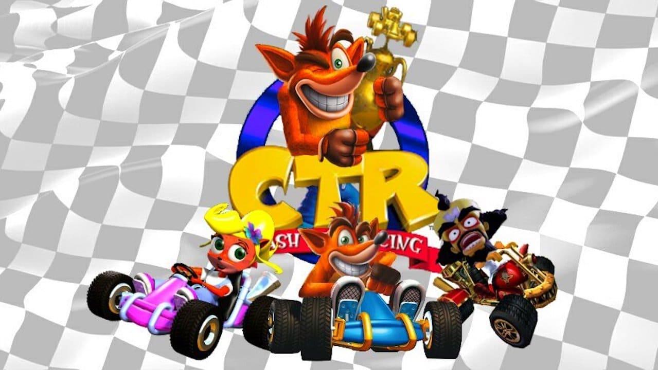 Crash Team Racing - Ecran Titre