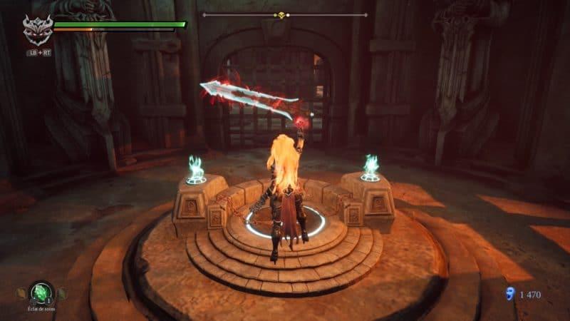 darksiders 3 test énigme épée