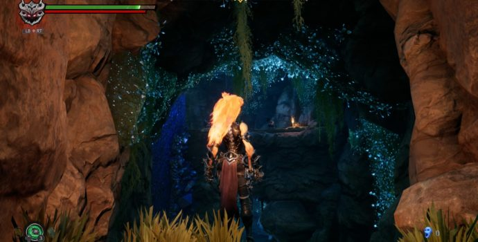 darksiders 3 test exploration grotte