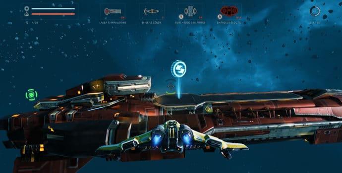Everspace - Stellar Edition - navire marchand