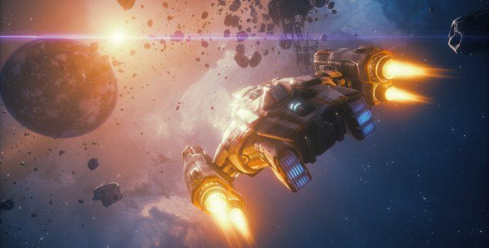 Everspace - Stellar Edition vaisseau