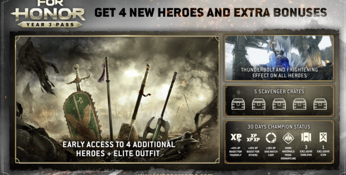 For Honor Pass Année 3