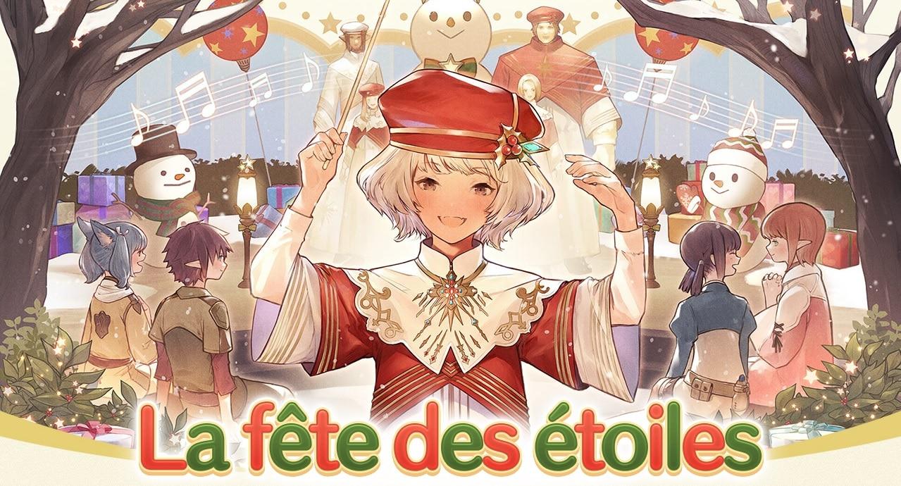 Final Fantasy XIV La fête des étoiles - chef d'orchestre
