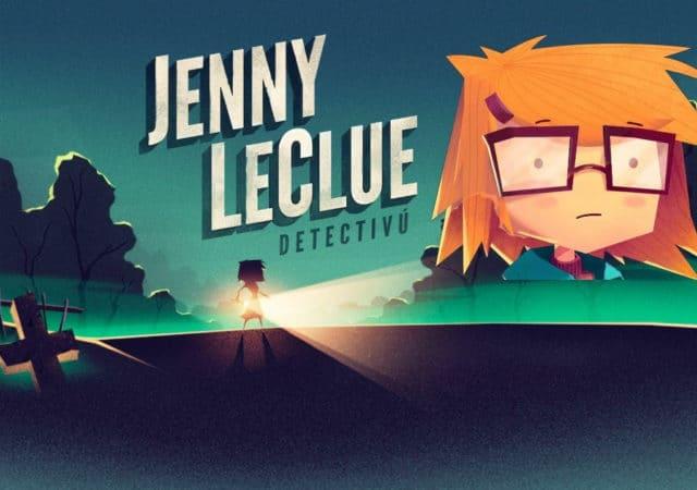 Jenny LeCLue Detectivu, un jeu d'aventures narratif sur PS4, Xbox One, PC et Switch