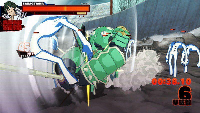 kill la kill attaque 2