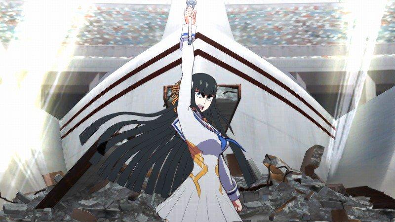 kill la kill satsuki combat