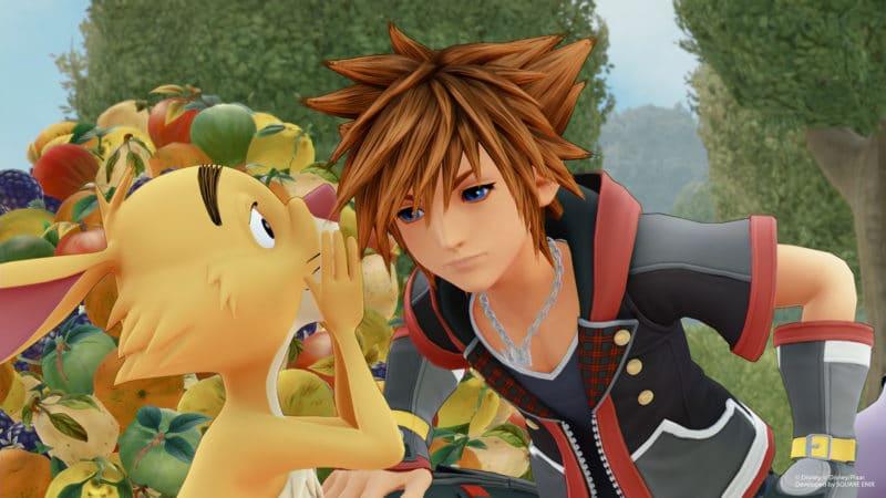Kingdom Hearts 3 nouvelles images avec Coco Lapin