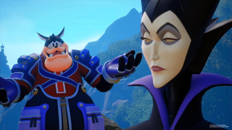 Kingdom Hearts 3 nouvelles images de Pat (Pete) et Maléfique