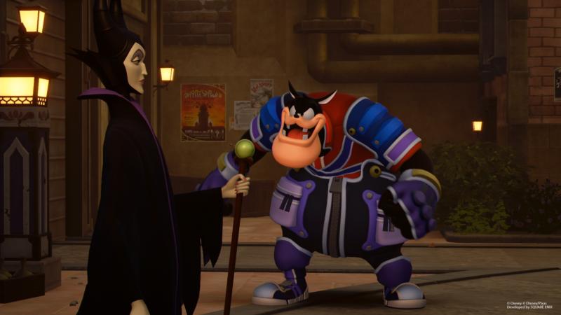 Kingdom Hearts 3 nouvelles images de Pat (Pete) et Maléfique (2)