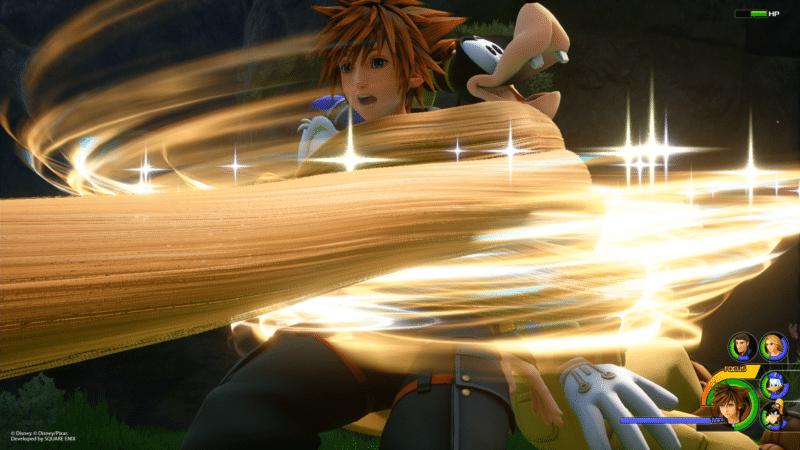Kingdom Hearts 3 nouvelles images dans le monde de Raiponce