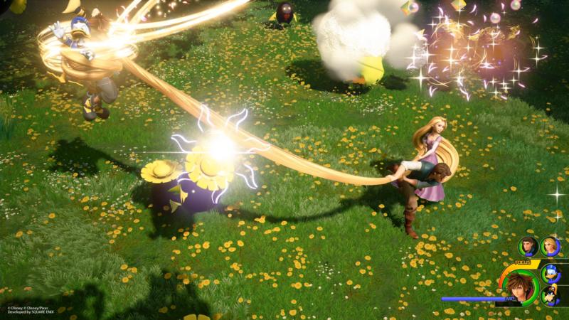 Kingdom Hearts 3 nouvelles images dans le monde de Raiponce (3)