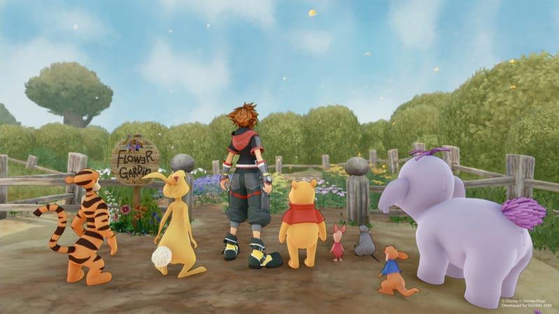Kingdom Hearts 3 nouvelles images avec le casting de Winnie l'Ourson